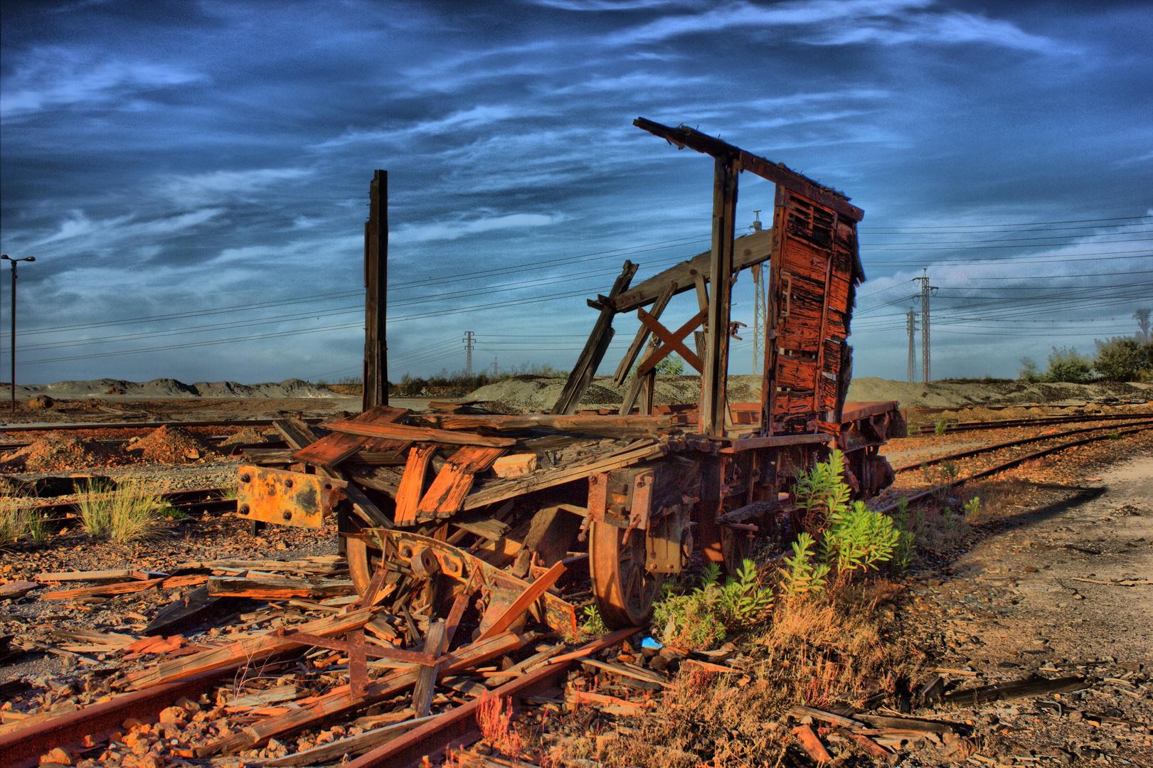 Vagón minero