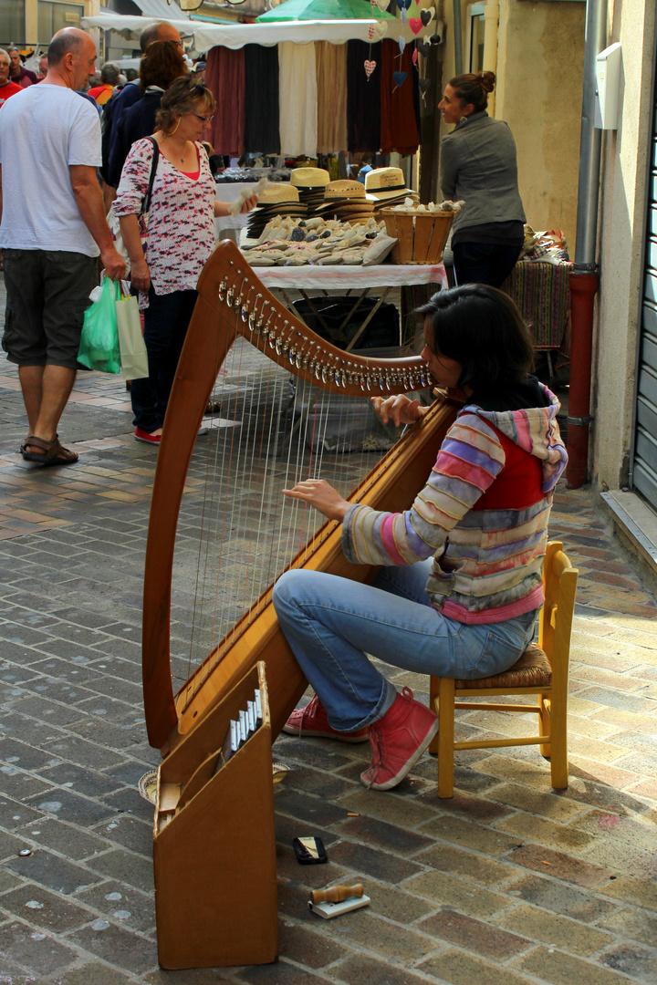 Vaison la Romaine -Provenzalischer Markt-
