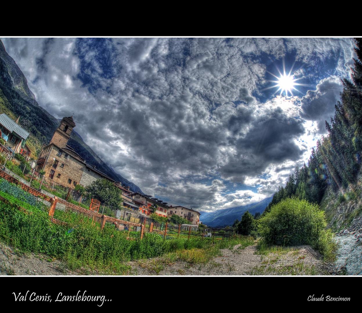 Val Cenis, Lanslebourg