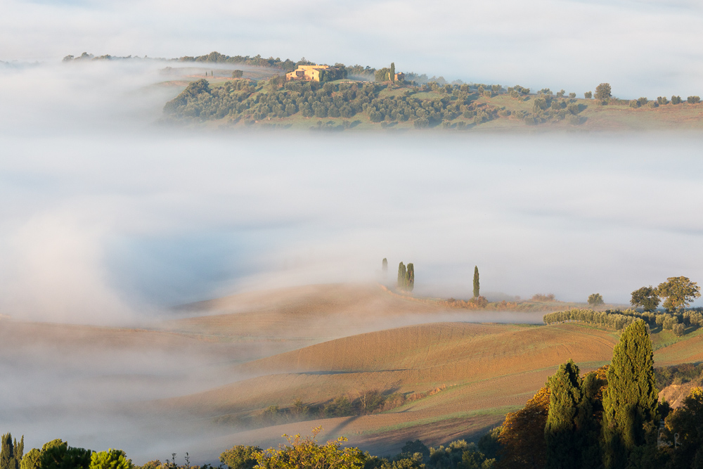 Val d'Orcia am Morgen