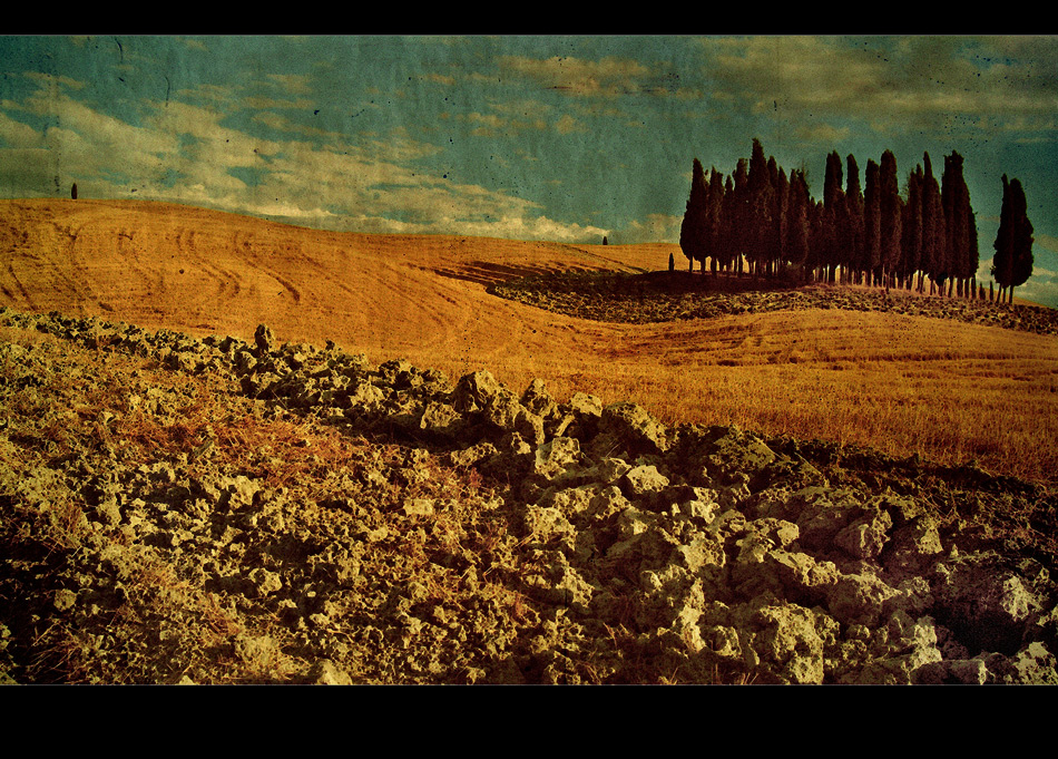 Val D`Orcia mal anders