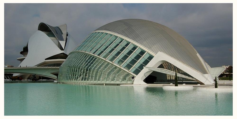 Valencia - Ciudad de les Arts i les Ciències - Palao und L'Hemisfèric