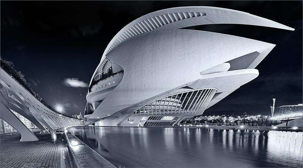 Valencia oper foto bild architektur architektur bei for Architektur valencia