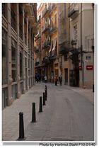 Valencia, Seitentraße (calle lateral)