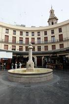 Valencia.Plaza Redonda (El Clot)