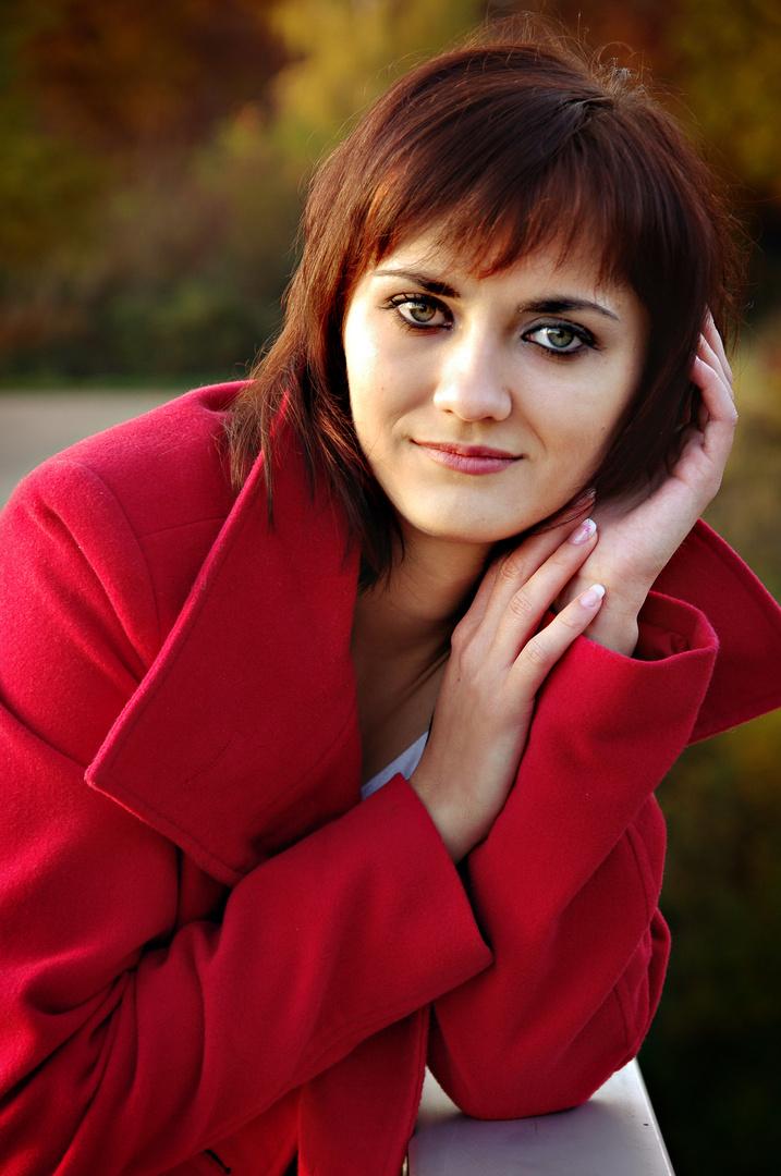 Valentina im Herbst