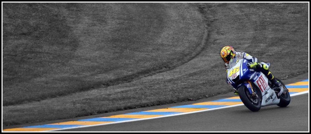 Valentino Rossi , Grand prix de France 2009