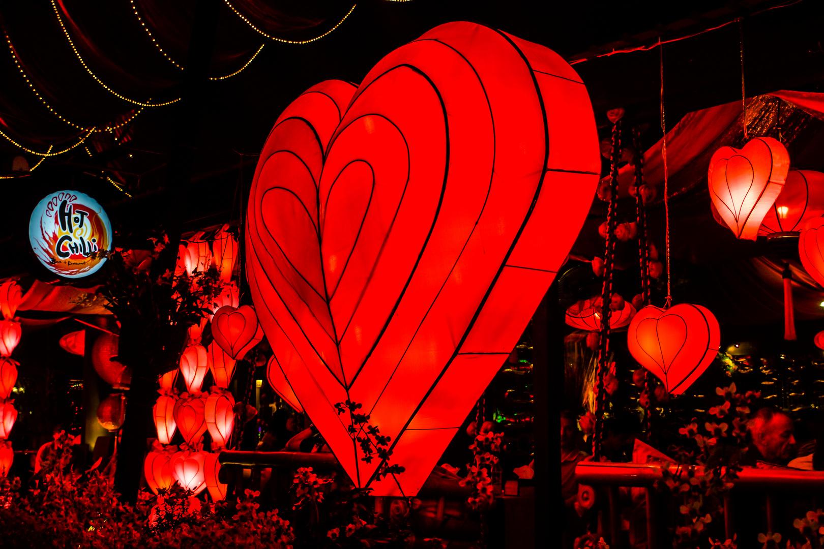 Valentinstag I - Tag der Verliebten auch in Chiang Mai/Nordthailand