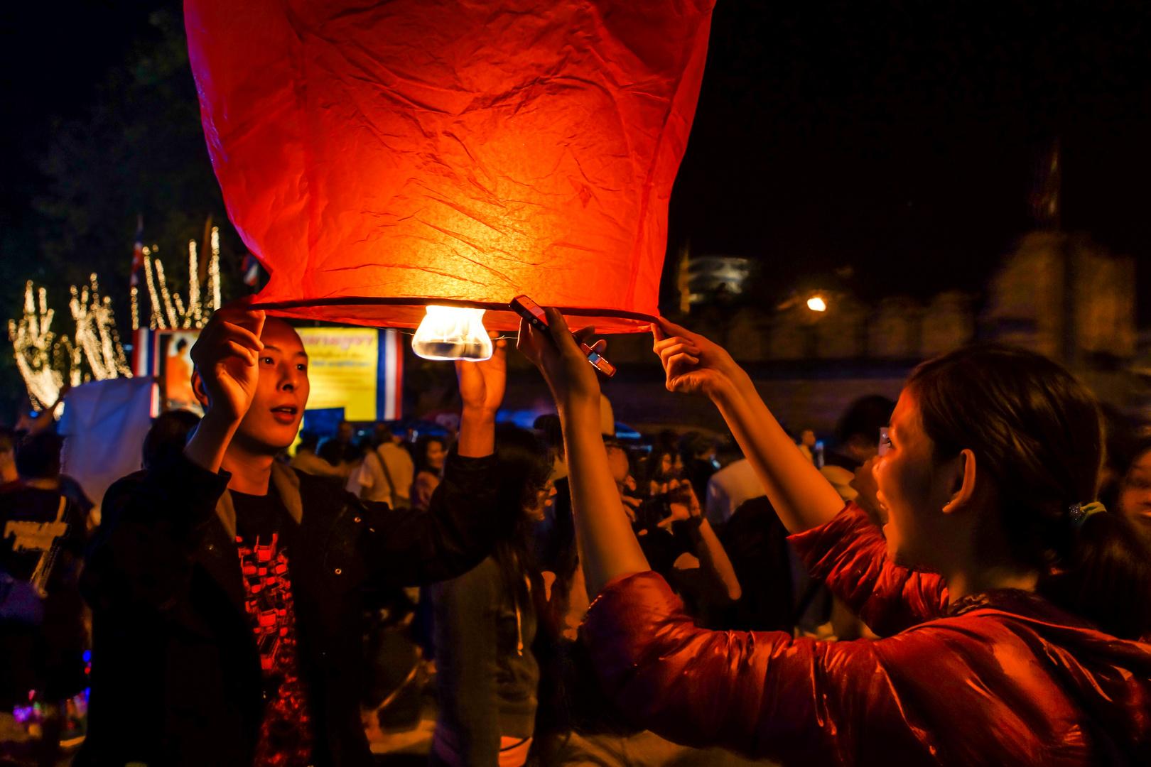 Valentinstag II - Tag der Verliebten auch in Chiang Mai/Nordthailand