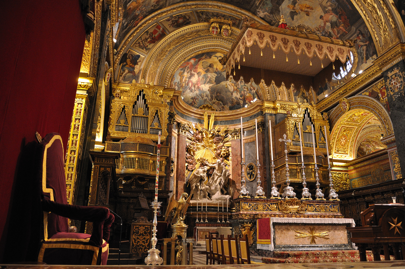Valetta - St. John's Co Cathedral