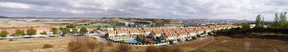 Valladolid vista panorámica desde Parquesol