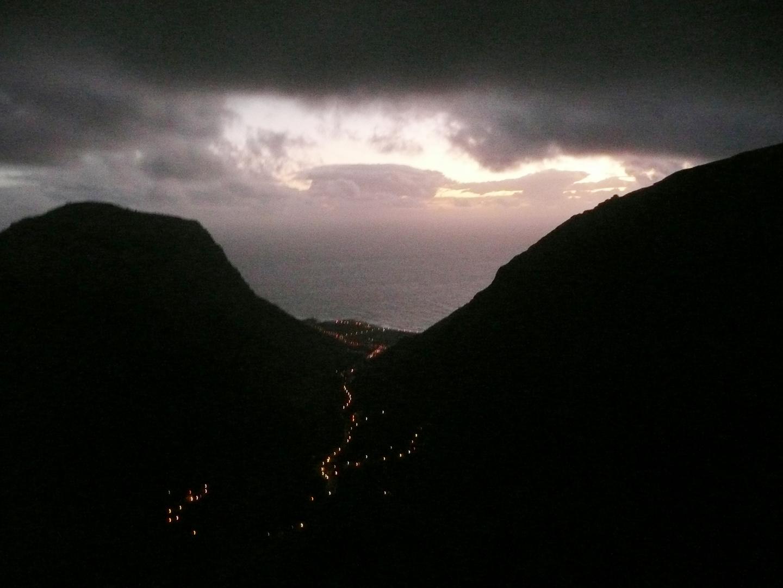 Valle bei Nacht