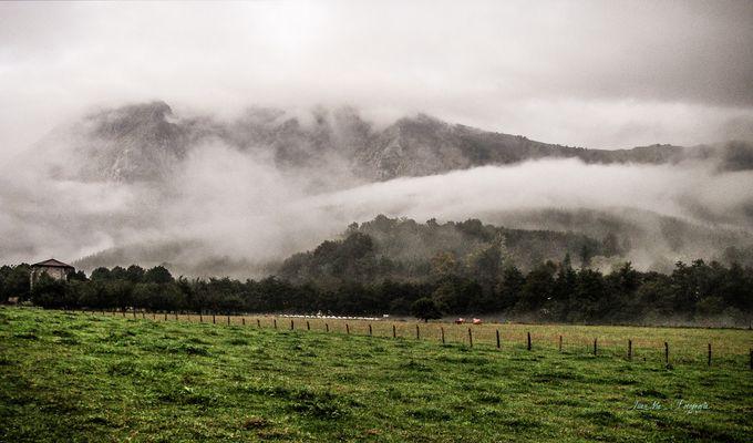 Valle de Atxondo ( Vizcaya ).