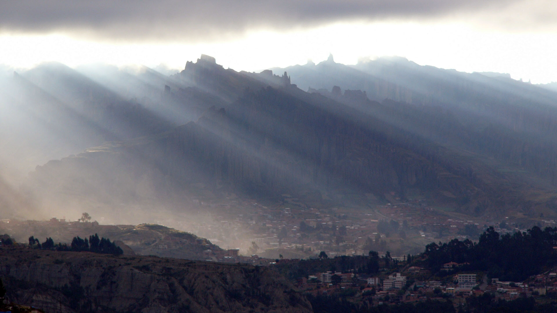 Valle de las Animas en La Paz - Bolivia (Valley of the Spirits in La Paz - Bolivia)