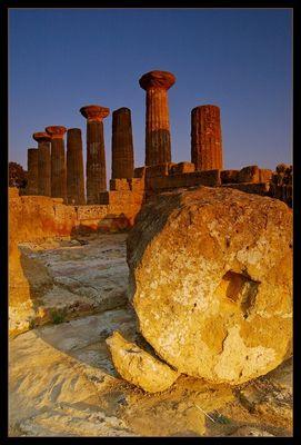 Valle dei Templi_Tempio id Giove Olimpico II