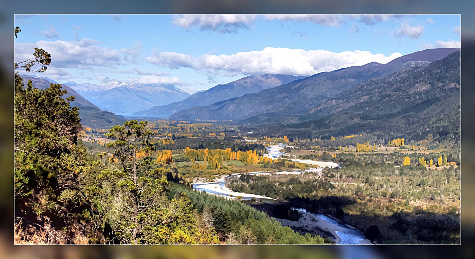 Valle del rio Azul