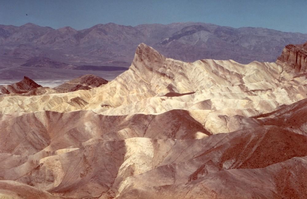 Valle della Morte panorama