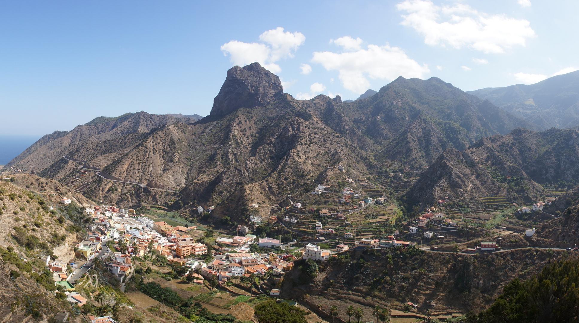 Valle Hermosa - vom Lomo de Cochones aus aufgenommen