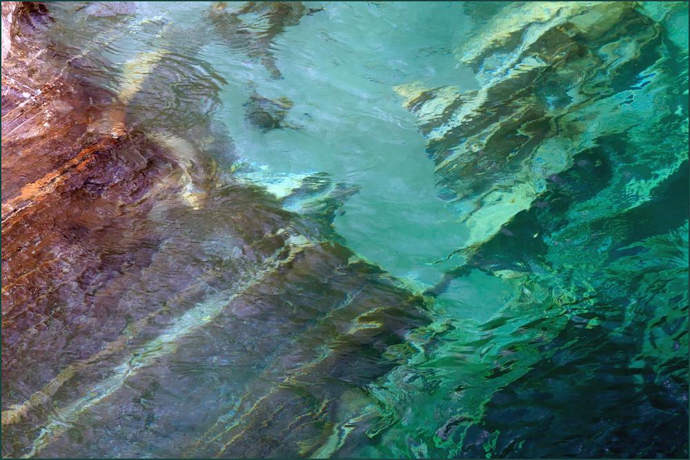 Valle Verzasca - Wasser und Steine