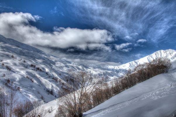 Vallée blanche au pays de la Meije