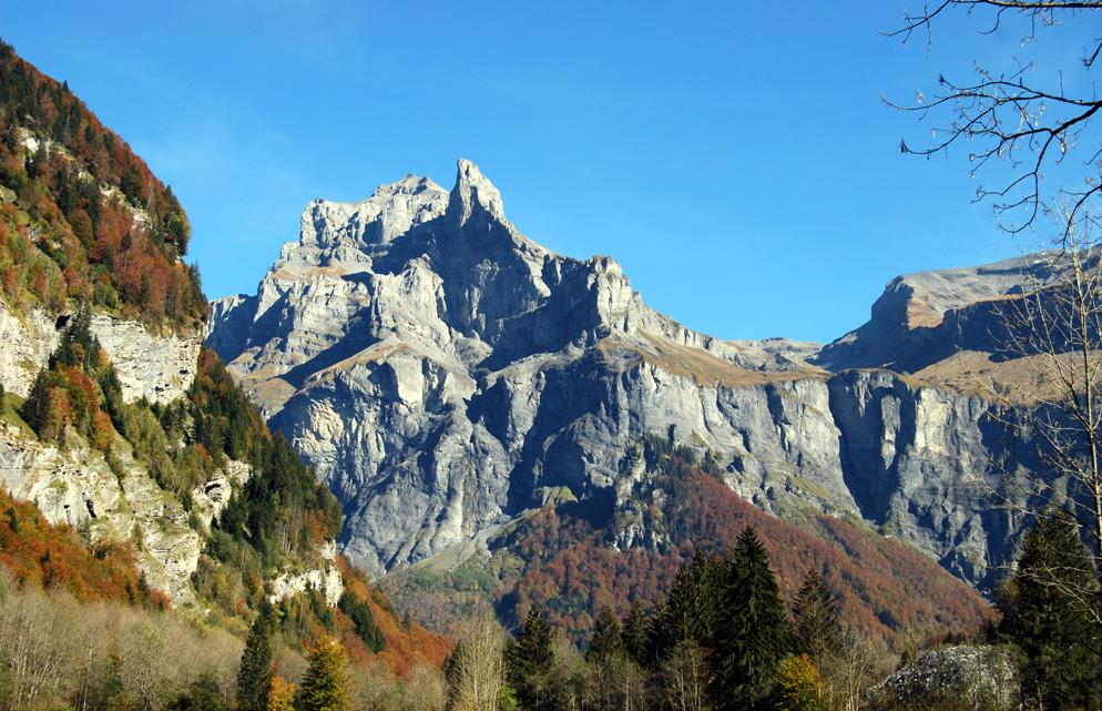 Vallée du Giffre, automne 2007