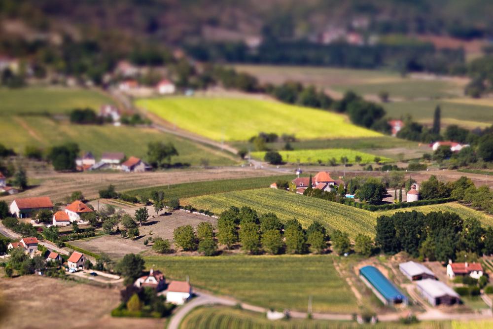 Vallée du Lot miniaturisée