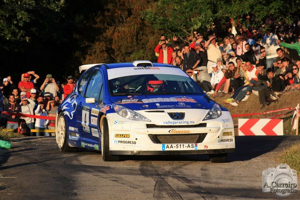 Vallejos 207 S.2000 / Rally Ourense 2010