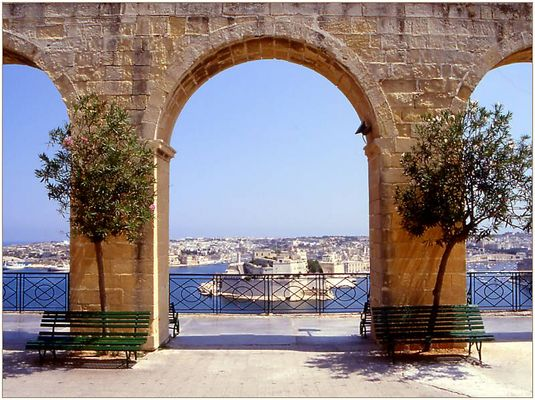 Valletta - Upper Barracca Gardens