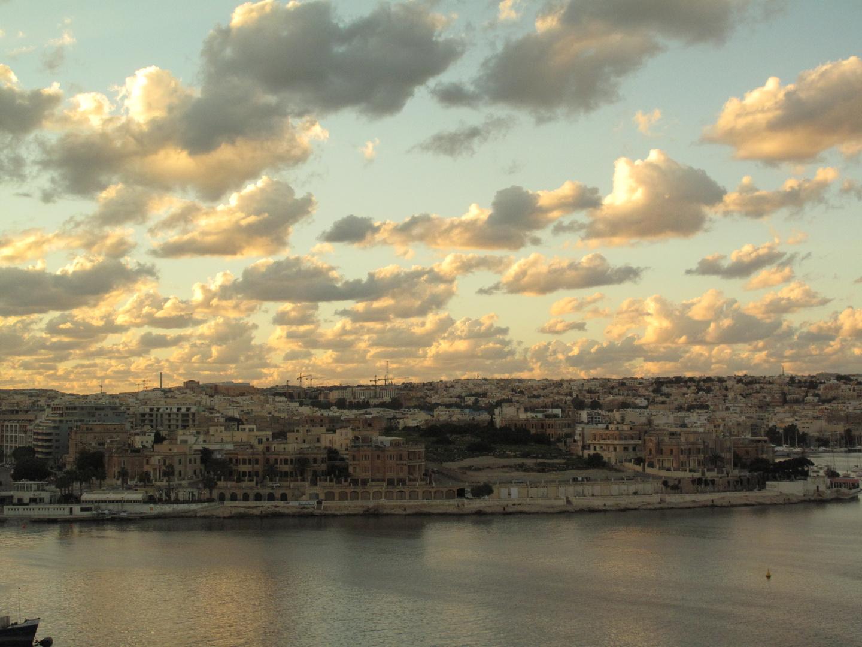 Valletta Wolkenhimmel 2