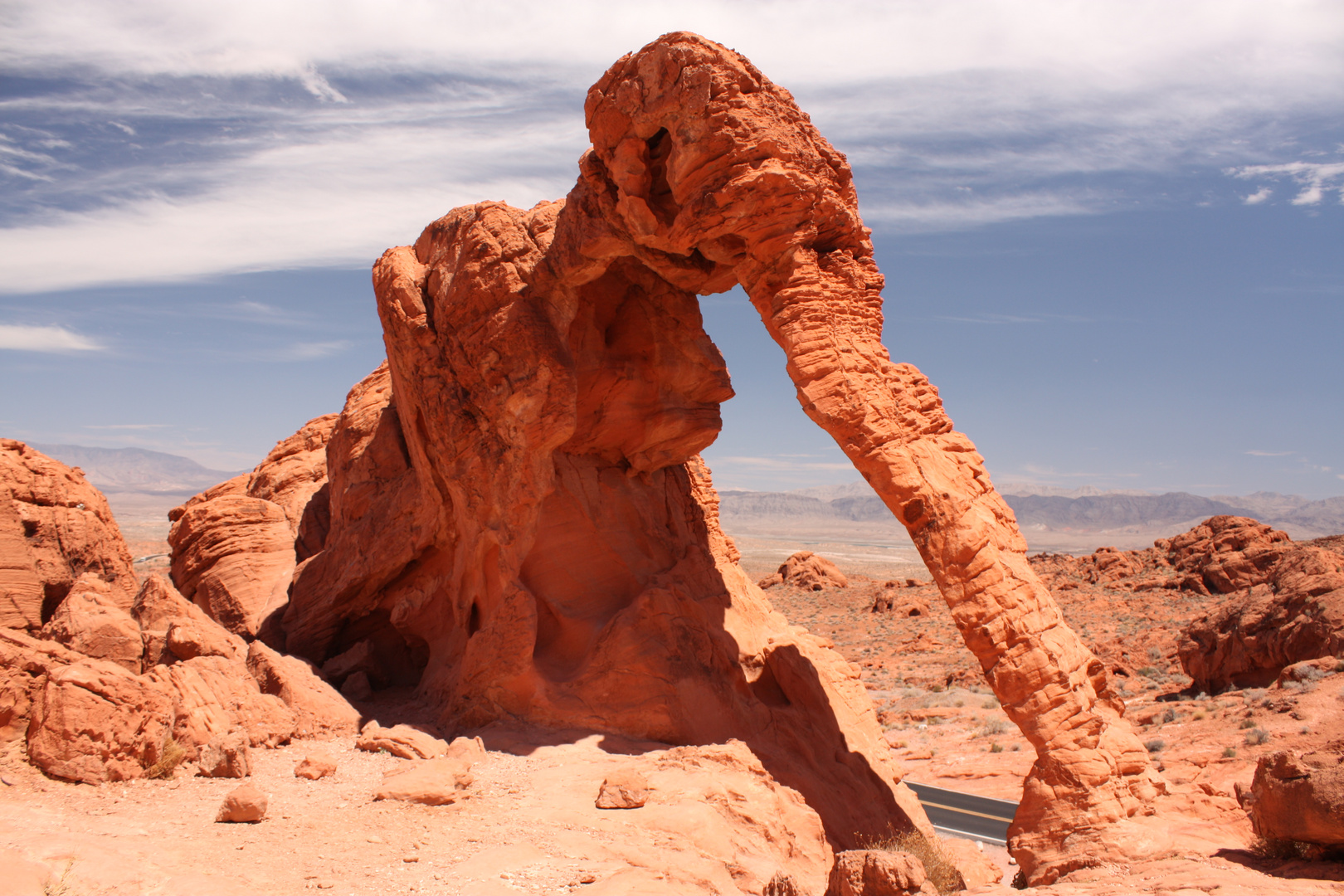 Valley of Fire: Elephant Rock