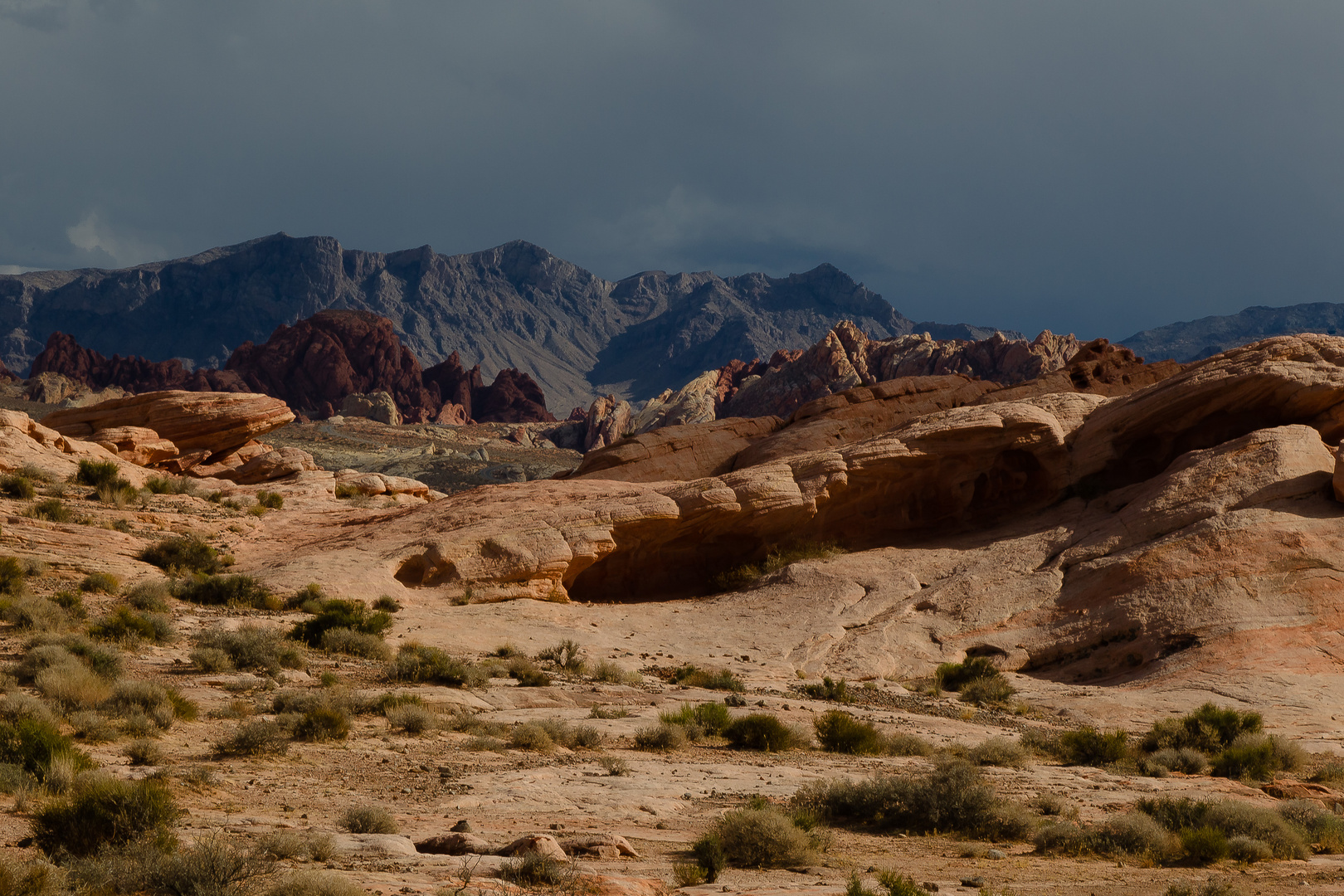 Valley of Fire IX Donnerwetter