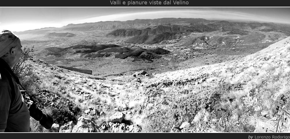 Valli e pianure viste dal Velino