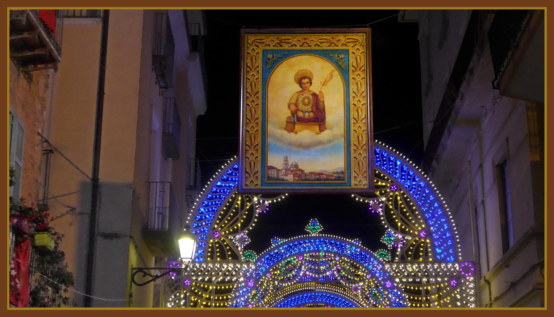 Vallo della Lucania - La festa del Santo Patrono