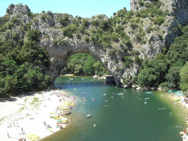 Vallon Pont d'Arc - Ardèche, France été 2008