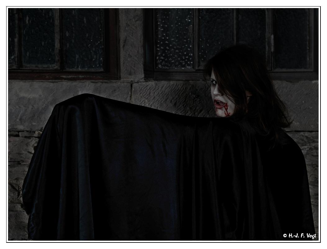 Vampir auf der Burg