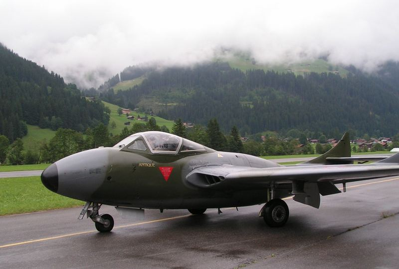 VAMPIRE DH-115