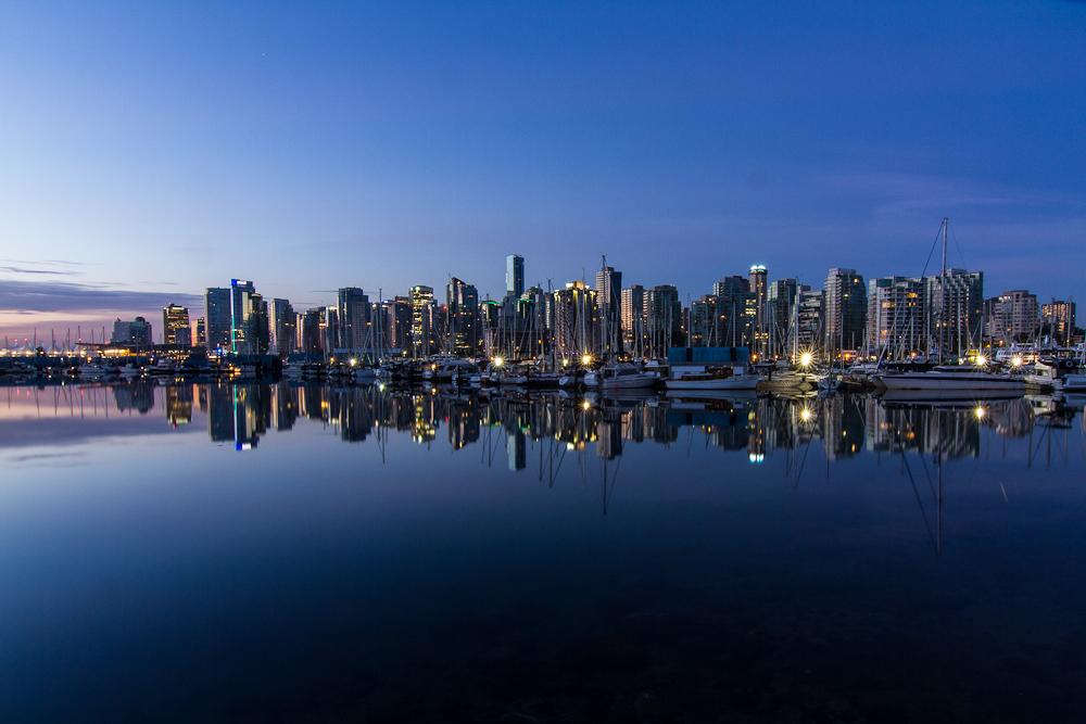 Vancouver à l'aube
