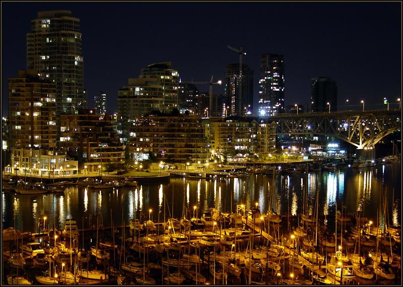 Vancouver am Abend