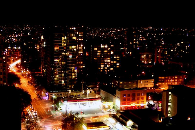 Vancouver by nite