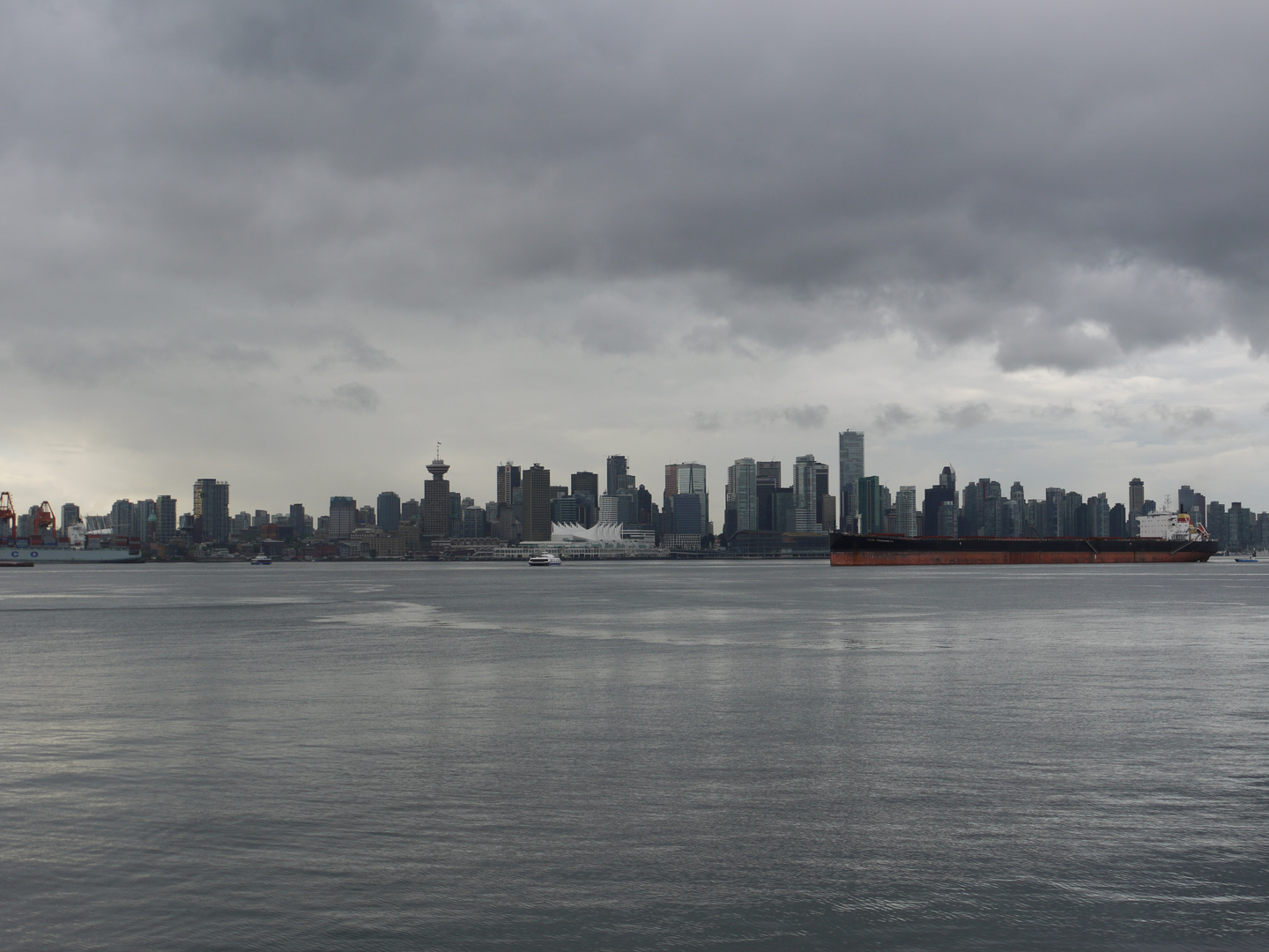 Vancouver in grey