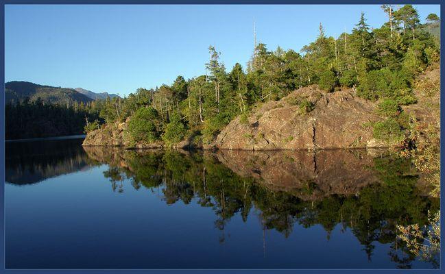 Vancouver Island Spiegelungen