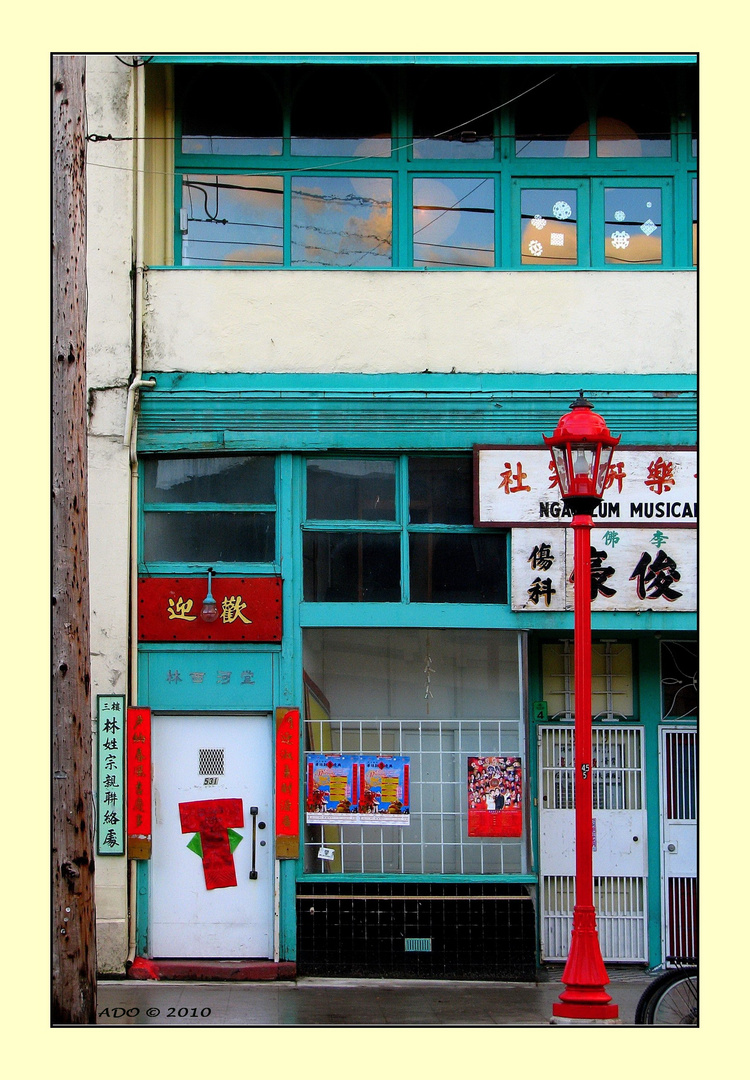 Vancouver Living ... in Chinatown