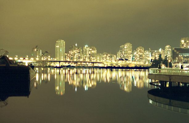 Vancouver @ night