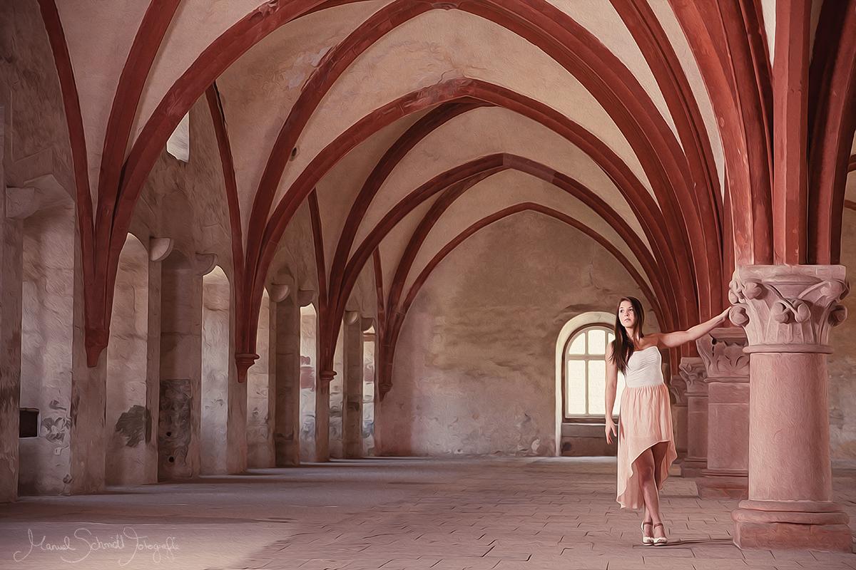 Vanessa im Kloster Eberbach