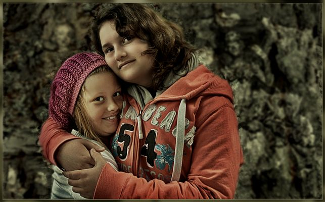 Vanessa und Lea...