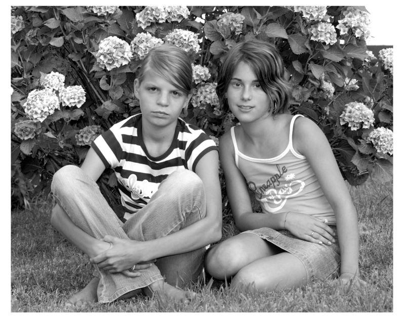 Vannessa und Fabrizia
