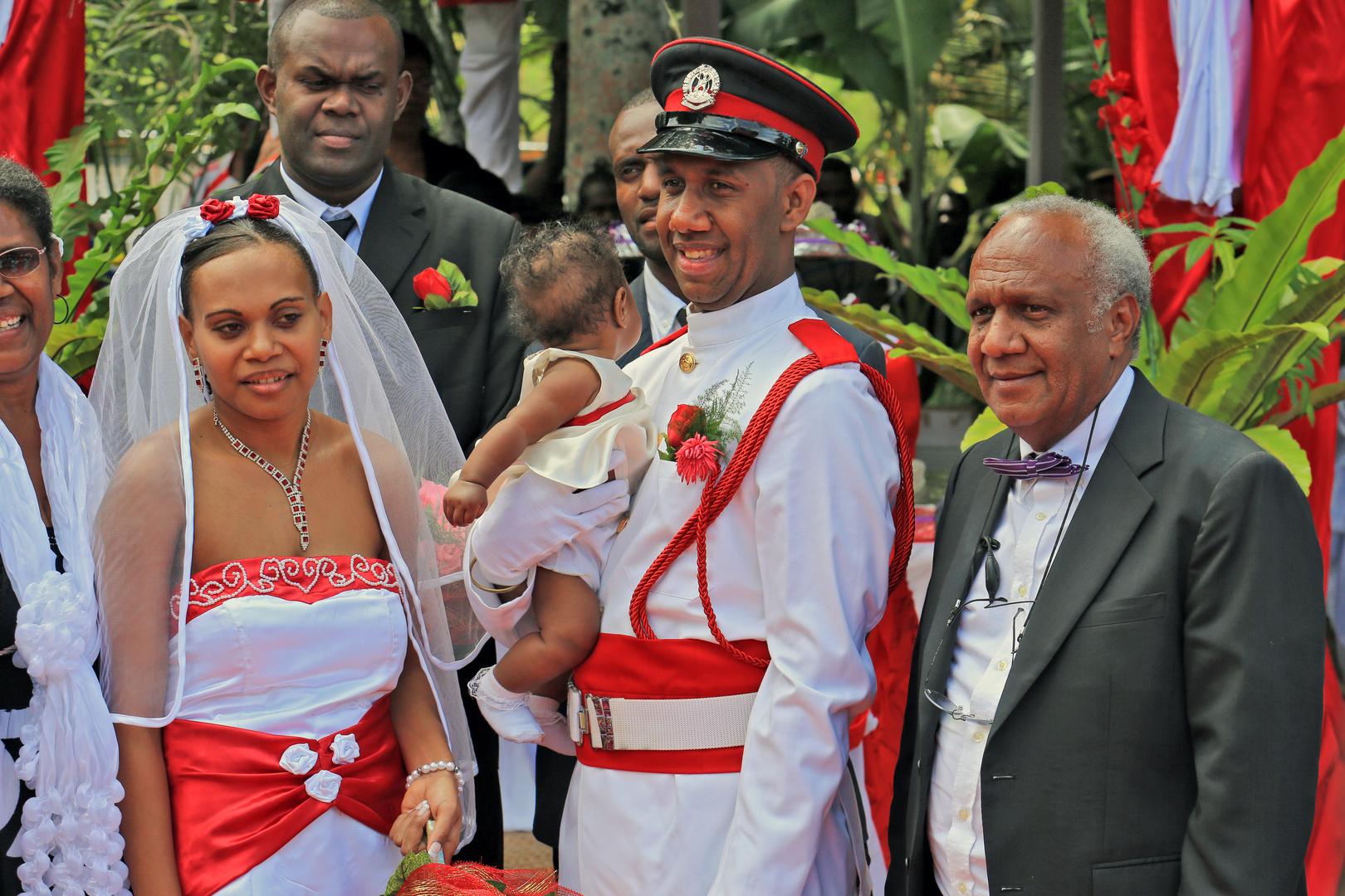 Vanuatu wedding