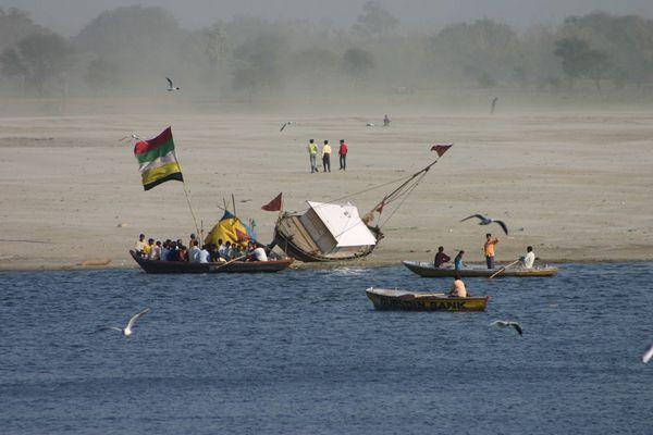 Varanasi im Januar