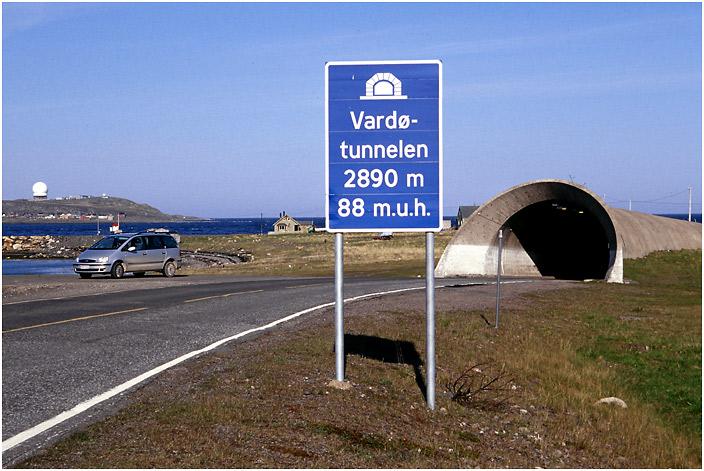 Vardø - Tunnel unter dem Meer