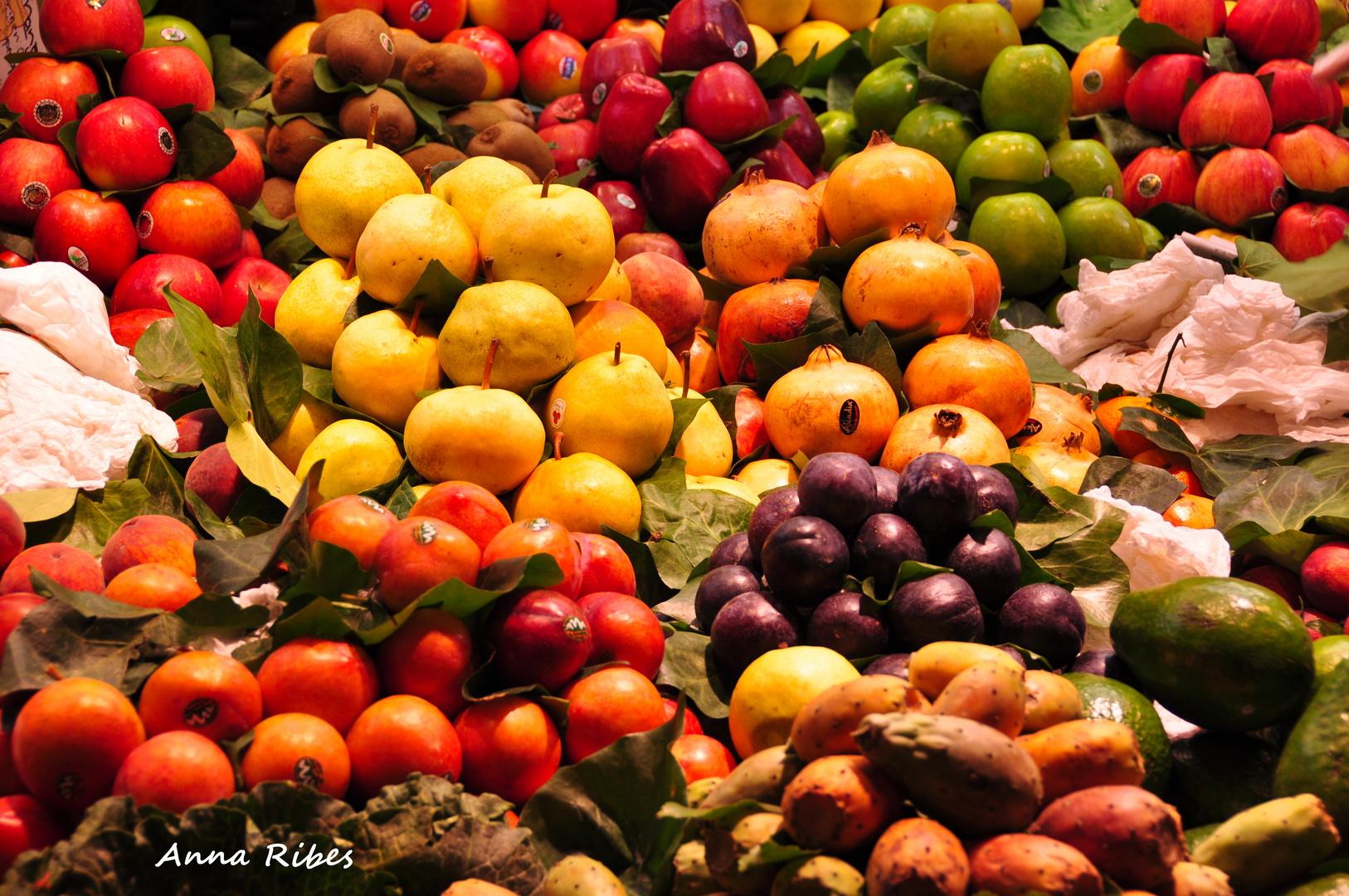 Varietat de fruites